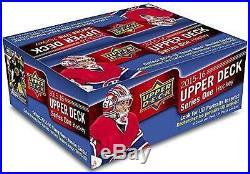 2015/16 Upper Deck Series 1 Hockey 24 Pack Box Factory Sealed McDavid RC