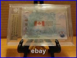 2015-2016 Upper Deck Ice Global Impact Rookie Card RC Connor McDavid BGS 9.5 10