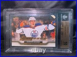 2015 Upper Deck Canvas Young Guns Connor McDavid ROOKIE RC BGS 10! PRISTINE