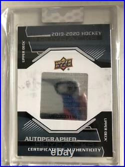 2016-17 Auston Matthews Ud Young Guns Canvas Ud Buyback Auto 1/10 Rookie Rc
