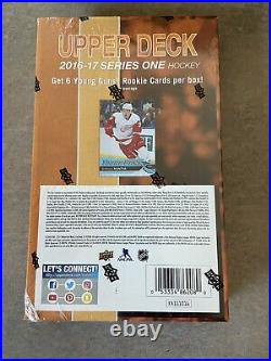 2016/17 Upper Deck Series 1 Hockey Hobby Box Matthews Nylander Yg Rc