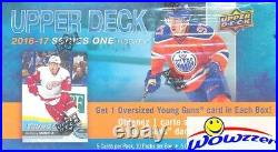 2016/17 Upper Deck Series 1 Hockey SPECIAL Factory Sealed Box-JUMBO YOUNG GUN