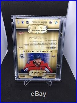 2018-19 Upper Deck The Cup Alex Ovechkin Monumental Game Used Patch 1/1