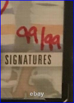 2019-20 Clear Cut Canvas Signatures Red Ink WAYNE GRETZKY #CS-WG #99/99 Auto 1/1