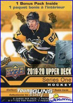2019/20 Upper Deck Series 1 Hockey Factory Sealed 20 Box Blaster CASE-YOUNG GUN