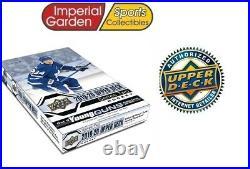 2019-20 Upper Deck Series 2 NHL Hobby Hockey Factory Sealed Box