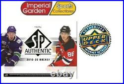 2019-20 Upper Deck UD SP AUTHENTIC Hobby Hockey Factory Sealed Box CANADA ONLY