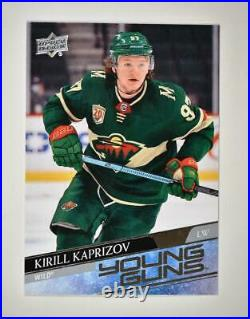 2020-21 UD Series 2 Base Young Guns #451 Kirill Kaprizov RC Minnesota Wild