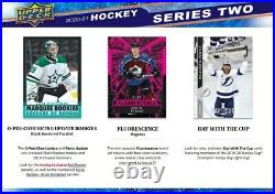 20-21 Ud Series 2 Hockey Factory Sealed Hobby Box Canada Ship Only Ship March31