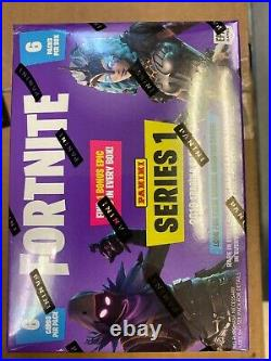20 x 2019 FORTNITE SERIES 1 TRADING CARDS BLASTER BOXS. 6 PACKS. Sealed Case
