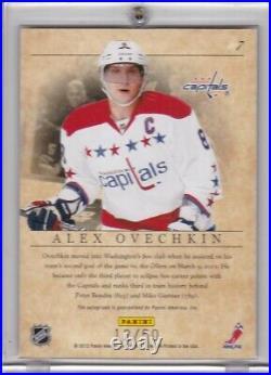 Alex Ovechkin 2012 Upper Deck Elite Autograph On Card Auto #12/50 -capitals