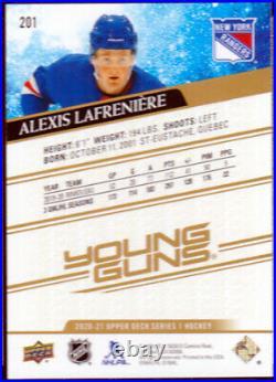 Alexis Lafreniere 2020-21 Young Gun HIGH GLOSS 10/10 Upper Deck #201