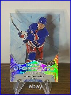 Alexis Lafreniere Rookie Breakout RARE Bonus Cards! Read Description