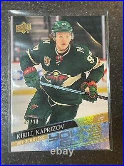 Kirill Kaprizov Upper Deck Young Guns UD High Gloss #1/10. THE BEST KIRILL CARD