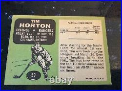 Lot of 123 TOPPS TCG 1969-1970 NHL NATIONAL HOCKEY LEAGUE TRADING CARDS