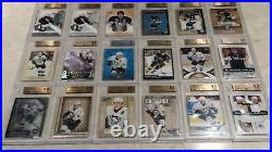 Sidney Crosby Rookie Huge Collection Auto Patch Jersey Bgs 10,9.5,9,110 Cards