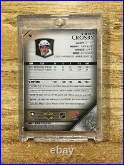 Sidney Crosby UD Young guns rookie card Lindros Jagr Marleau Modano Nolan lot RC