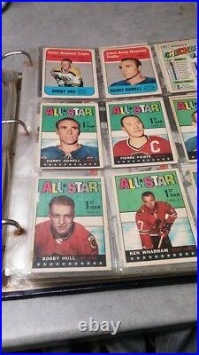 Vintage TOPPS NHL 1967 1968 COMPLETE HOCKEY CARD SET WITH 3 BOBBY ORR CARDS