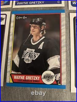 WAYNE GRETZKY(12)Card LotTopps/OPC 1980-1992! 2nd YR Thru 1992 Season! SWEET