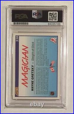 WAYNE GRETZKY Signed 1990 Score Magician Autograph card PSA/DNA AUTO GEM MINT 10
