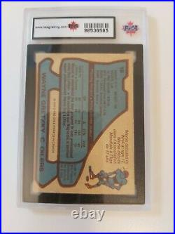 Wayne Gretzky 1979-80 o pee chee rookie card KSA graded 4 VGE