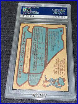 Wayne Gretzky Signed 1979 O-pee-chee Rookie Card #18 Psa/dna Gem Mint 10 Auto