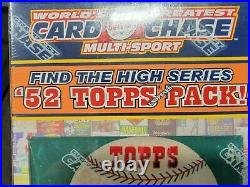 Worlds Greatest Card Chase 20 Pack Edition Baseball Basketball Hockey Football